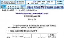 12月7日长春市土拍:出让净月区一宗总面积298458平方米的商服用地