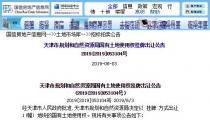 7月1日天津市北辰区土拍:以起始价17亿出让津北辰龙(挂)2019-077号住宅用发出了一声巨大地