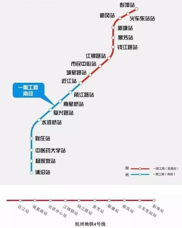 杭州8条地铁线路完整站名大盘点,你家有哪条经过呢图片