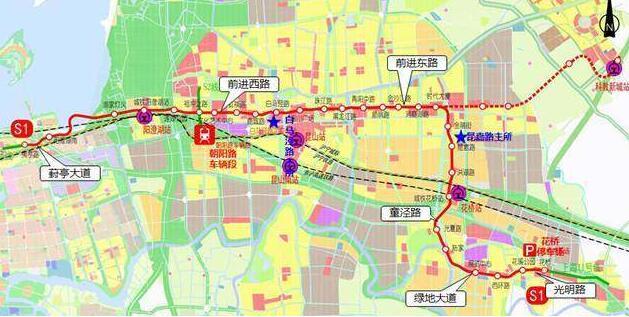 苏州地铁S1 6号线最新消息 前期招标开始 争取2017年内开工 站点 线...图片 47043 629x317