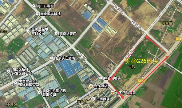 南京浦口区桥林街道排名GDP_浦口桥林要火 五大重点工程利好让桥林彻底开挂